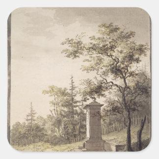 Emilias Kilde, 1797 Square Sticker