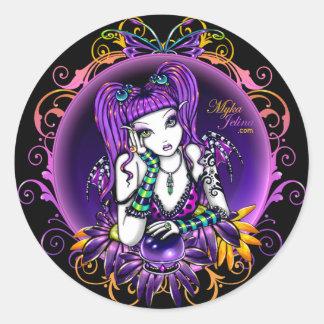 """Emilicious"" Rainbow Flower Fairy Art Stickers"