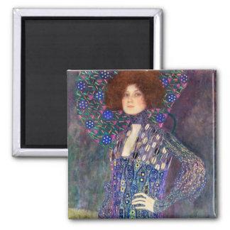 Emilie Floege, 1902 2 Inch Square Magnet