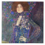 Emilie Floege, 1902 Azulejo Cuadrado Grande