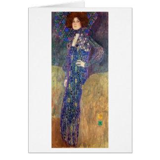 Emilie Floege, 1902 Card