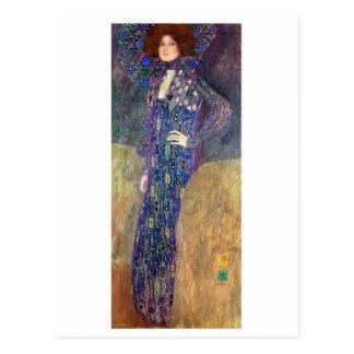 Emilie Floege, 1902 Postcard