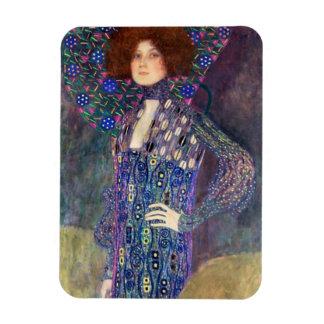 Emilie Floege, 1902 Rectangular Photo Magnet