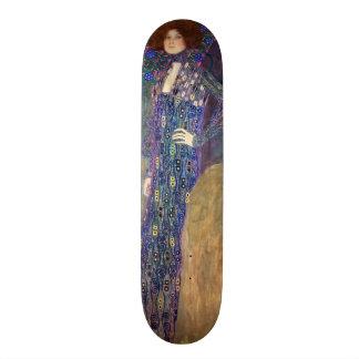 Emilie Floege, 1902 Skate Board