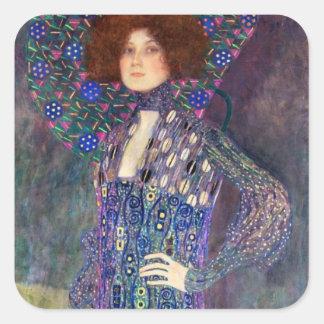 Emilie Floege, 1902 Square Sticker