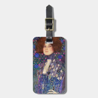 Emilie Floege, 1902 Tag For Luggage
