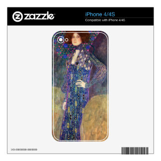 Emilie Floege iPhone 4S Decal