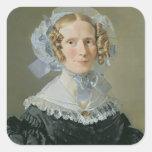 Emilie Kessel 1839 Colcomanias Cuadradas Personalizadas