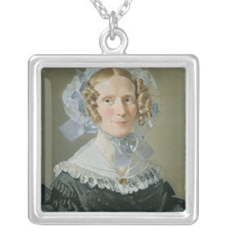 Emilie Kessel  1839 Silver Plated Necklace