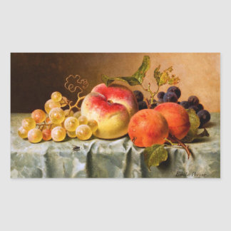 Emilie Preyer: Fruits with Fly Rectangular Sticker
