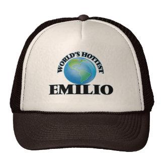 Emilio más caliente del mundo gorros bordados