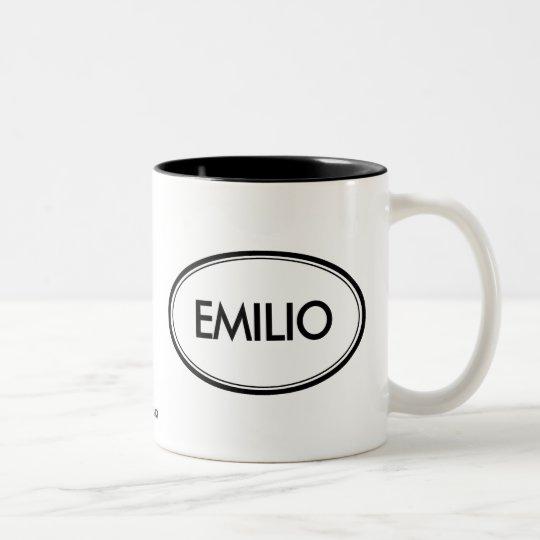 Emilio Two-Tone Coffee Mug