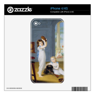 Emily and George Mason, c.1794-95 (oil on canvas) Decals For The iPhone 4S