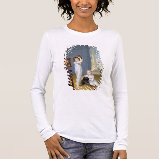 Emily and George Mason, c.1794-95 (oil on canvas) Long Sleeve T-Shirt