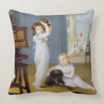 Emily and George Mason, c.1794-95 (oil on canvas) Pillow