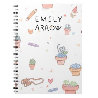 Emily Arrow Songwriting Notebook