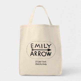 Emily Arrow Tote Bag