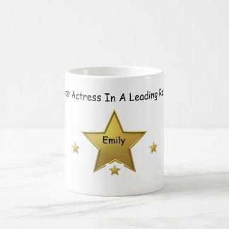 Emily-Best Actress Classic White Coffee Mug