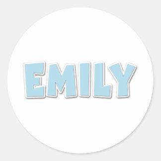 Emily Blue Popout Sticker