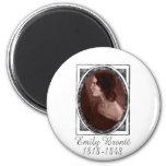 Emily Brontë 2 Inch Round Magnet