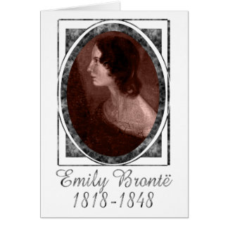 Emily Brontë Card
