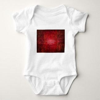 Emily Bronte inspirational quote Baby Bodysuit