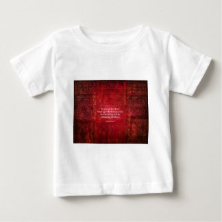 Emily Bronte inspirational quote Infant T-shirt