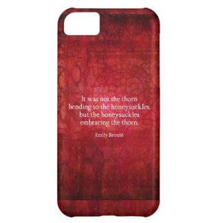 Emily Bronte inspirational quote iPhone 5C Case