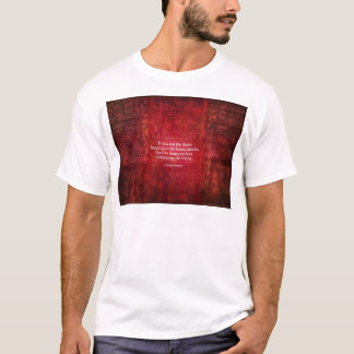 Emily Bronte inspirational quote T-Shirt