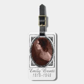Emily Brontë Luggage Tag