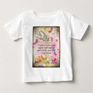 Emily Bronte quote about freedom Shirt