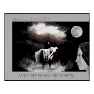 Emily Bronte se une a Heathcliff y a Cathy Póster