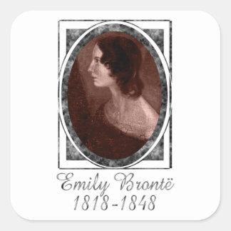 Emily Brontë Square Sticker
