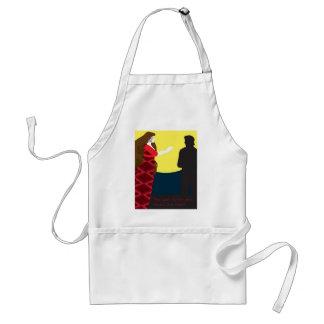 Emily Bronte/Wuthering diseño del regalo de la alt Delantal