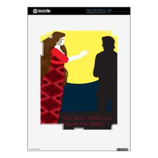 Emily Bronte/Wuthering diseño del regalo de la alt iPad 2 Skin