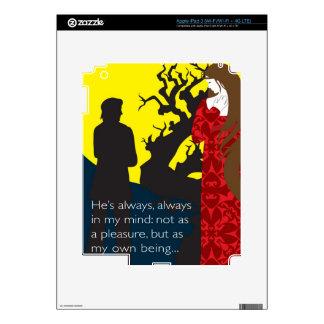 Emily Bronte/Wuthering diseño del regalo de la alt iPad 3 Skins