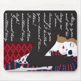 Emily Bronte/Wuthering diseño del regalo de la alt Tapetes De Raton