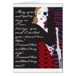 Emily Bronte/Wuthering diseño del regalo de la alt Tarjeta