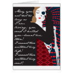 Emily Bronte/Wuthering diseño del regalo de la alt Tarjeta De Felicitación