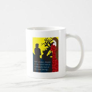 Emily Bronte/Wuthering diseño del regalo de la alt Taza De Café