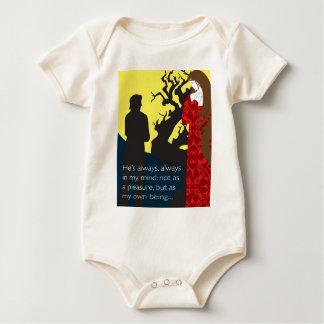 Emily Bronte/Wuthering diseño del regalo de la Enterito