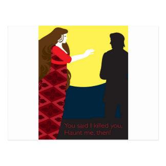Emily Bronte/Wuthering diseño del regalo de la Postales