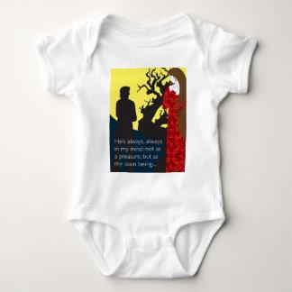 Emily Bronte/Wuthering diseño del regalo de la Remera