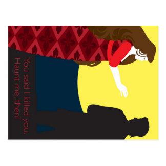 Emily Bronte/Wuthering diseño del regalo de la Tarjetas Postales