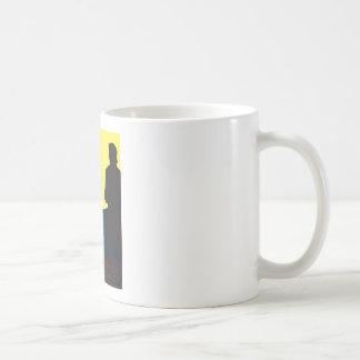 Emily Bronte/Wuthering diseño del regalo de la Taza Básica Blanca