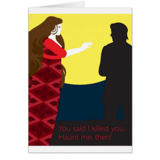 Emily Bronte / Wuthering Height gift design Card