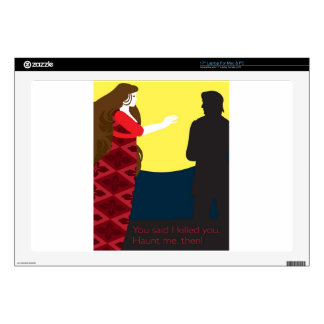 Emily Bronte / Wuthering Height gift design Laptop Decal