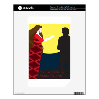 Emily Bronte / Wuthering Height gift design NOOK Color Skins