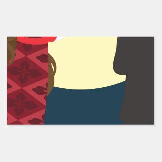 Emily Bronte / Wuthering Height gift design Rectangular Sticker