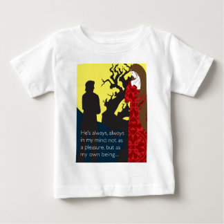 Emily Bronte / Wuthering Height gift design with q Baby T-Shirt